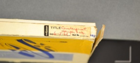 Book spine of Counterpoint Harper Lee