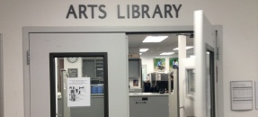 Door leading to Arts Library