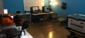 Interior of Lux Lab Powell