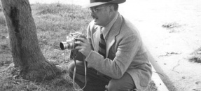 S. Charles Lee, Lee with a camera,1948