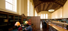 Powell Main Reading Room looking east. Photo courtesy of Stephanie Diani