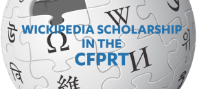 thumbnail for the wikipedia scholarship in the cfprt blog post