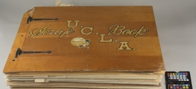 UCLA Marching Band Scrapbook Front Cover