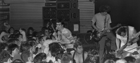 Black Flag performing at Mi Casita in Torrance, Calif., 1983