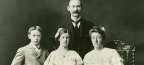 The Henry Miller Family from the Henry Miller papers (Collection 110)