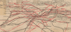 Thumbnail image of Camby's aero map of Los Angeles district