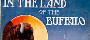 Sheet music cover for In the Land of the Buffalo, 1908