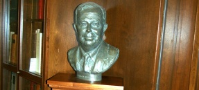 Bust of Franklin D. Murphy, 1916-1994