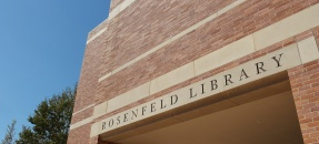 Exterior of the Rosenfeld Library