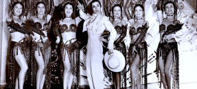 Inesita with other flamenco dancers