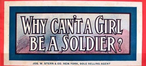 thumbnail of why can't a girl be a soldier