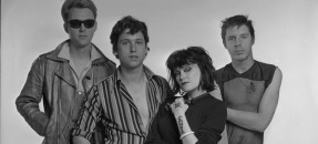X, the Los Angeles based band, 1979 - LA Times Photographic Archive