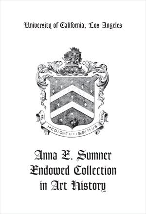 Ann E. Sumner Endowed Collection in Art History