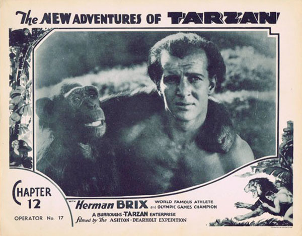 The New Adventures of Tarzan Poster (1935)